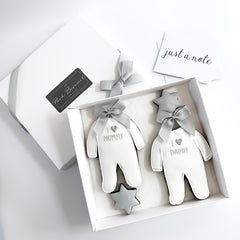 Posh Baby Sleepsuits medium gift box