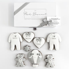 Posh Balloon Baby Set luxe A4 magnetic box