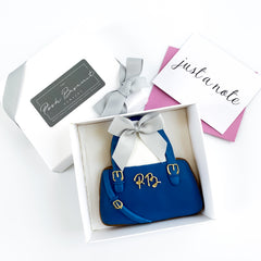 Posh Handbag single biscuit gift box