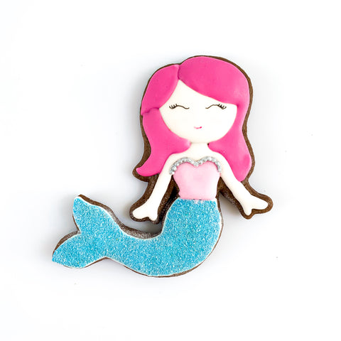 Mermaid single biscuit gift box