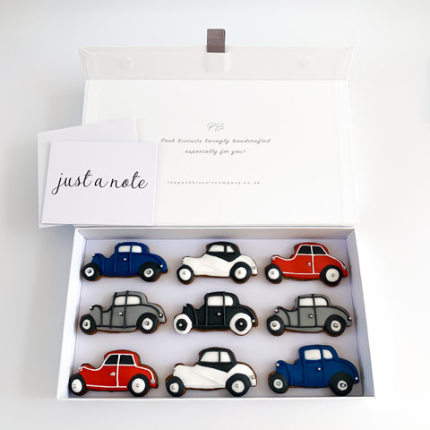 Posh Classic Cars luxe magnetic box