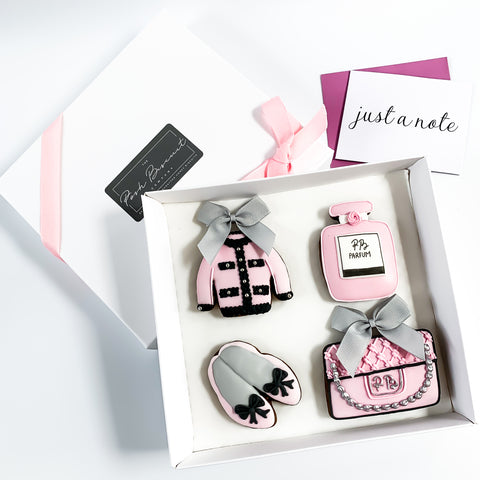 Posh Pink Fashion Set medium gift box