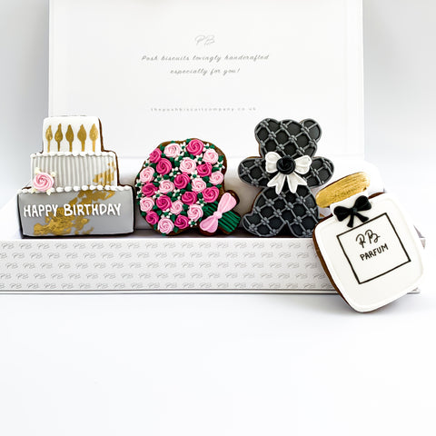 Posh Birthday medium gift box