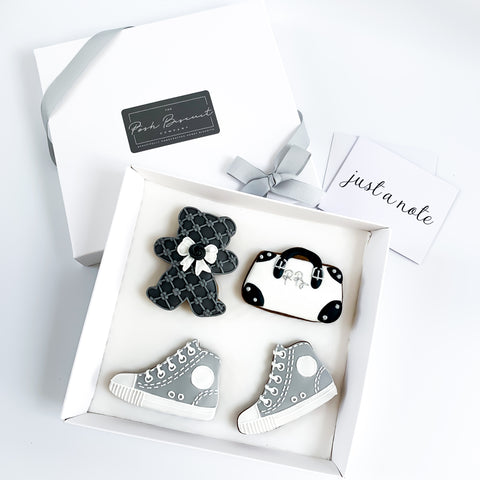 Posh Grey Fashion Set medium gift box