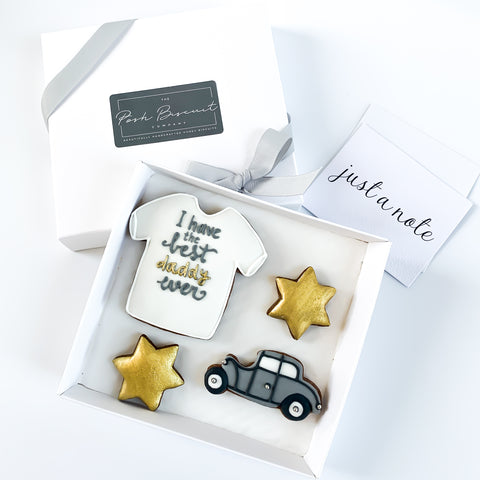 The Best Daddy Ever Car Set small gift box
