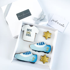 Best Sporty Dad Ever medium gift box