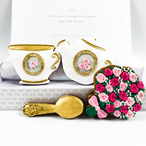 Posh Tea Pot Set medium gift box