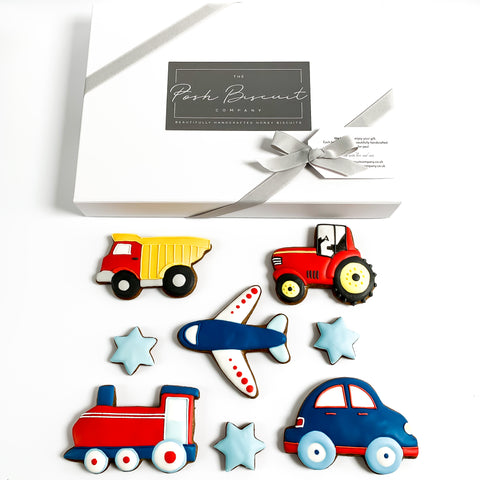 Posh Toys Biscuits luxe A4 magnetic box