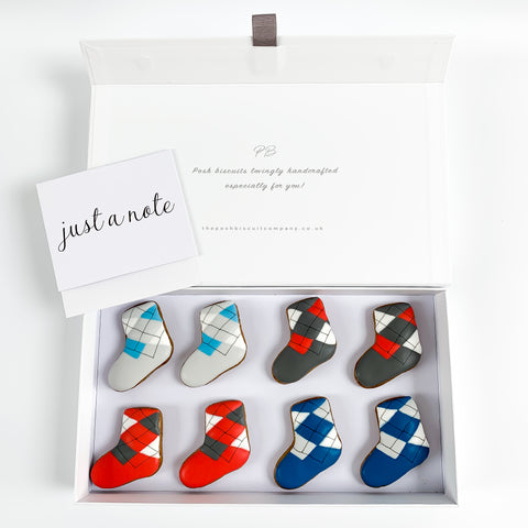 Posh Socks luxe magnetic box