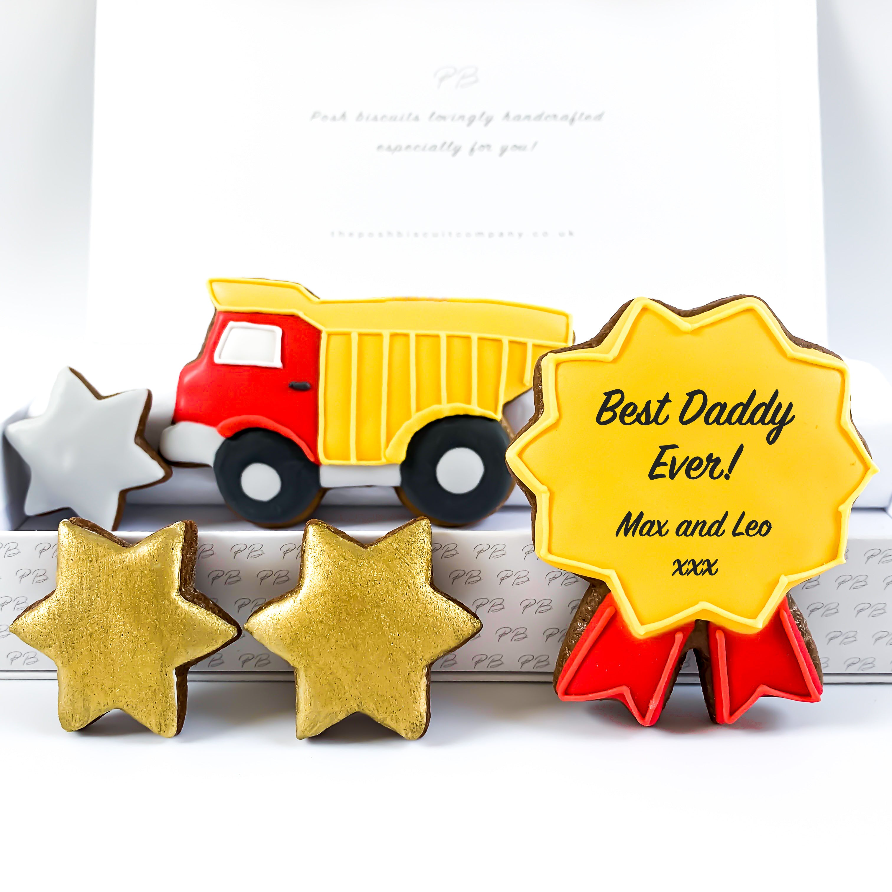 Personalised Posh Truck medium gift box