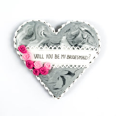 Will You Be My Bridesmaid single biscuit gift box