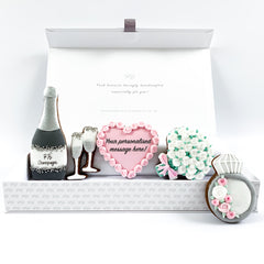 Personalised Wedding/Engagement luxe magnetic box