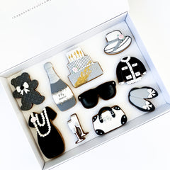 Posh Lady Happy Birthday luxe A4 magnetic box