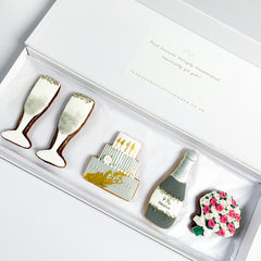 Posh Happy Birthday luxe magnetic box