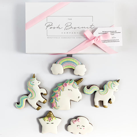 Unicorn Biscuits luxe A4 magnetic box