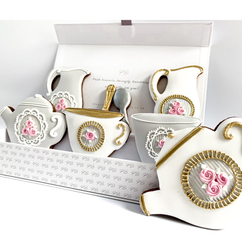 Posh Teatime luxe A4 magnetic box