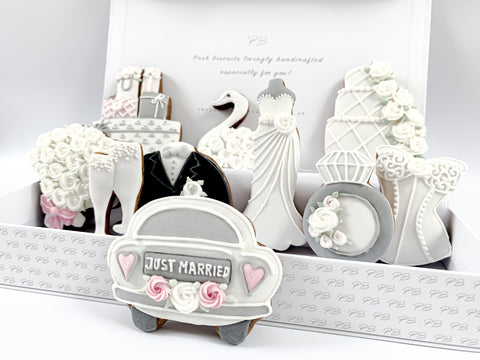 Wedding Day luxe A4 magnetic box