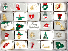 Posh Advent Calendar luxe A4 magnetic box
