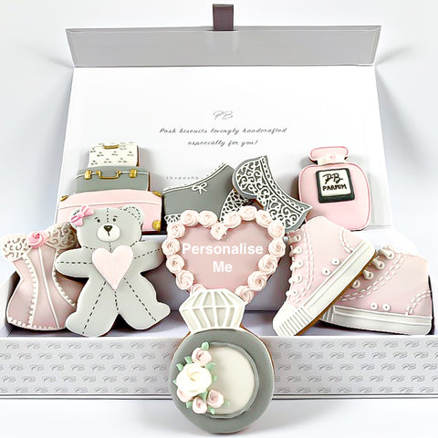 Bride-To-Be luxe A4 magnetic box