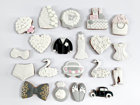 Wedding Day luxe double-layer A4 magnetic box