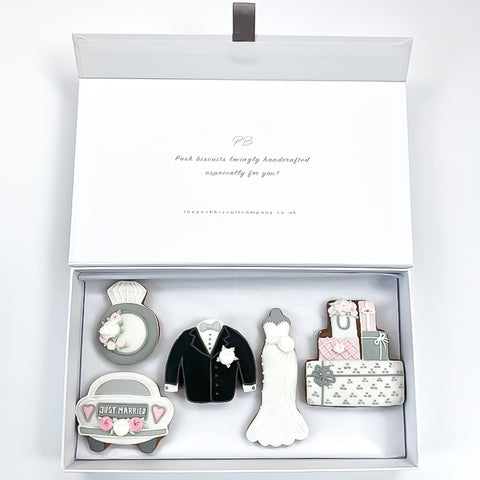 Wedding Day luxe magnetic box