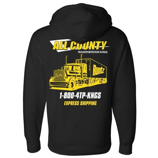 Runtz All County Hoodie (Black/Yellow)
