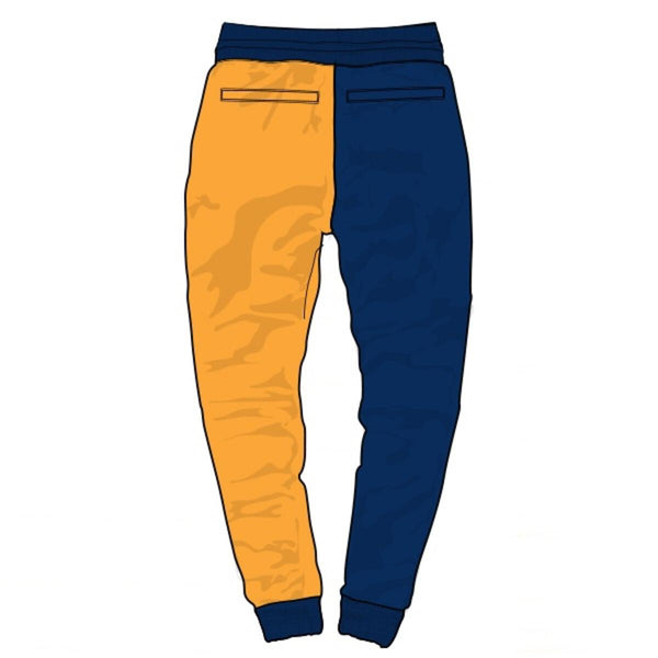 Runtz Divided Worldwide Joggers (Royal/Red/Yellow)