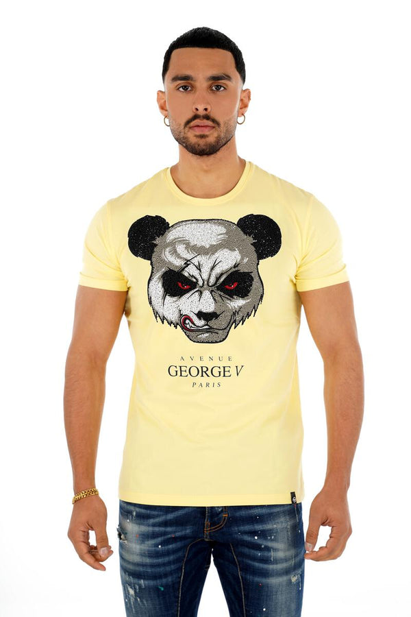 George V Paris Bear Head Shirt (Yellow)
