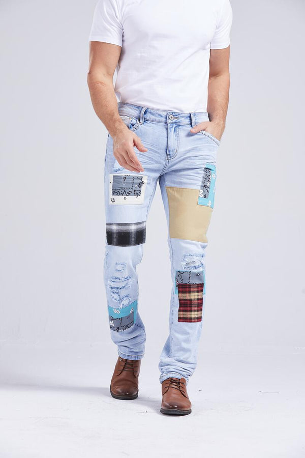 Foreign Local Slim Skinny Jean (Patches)