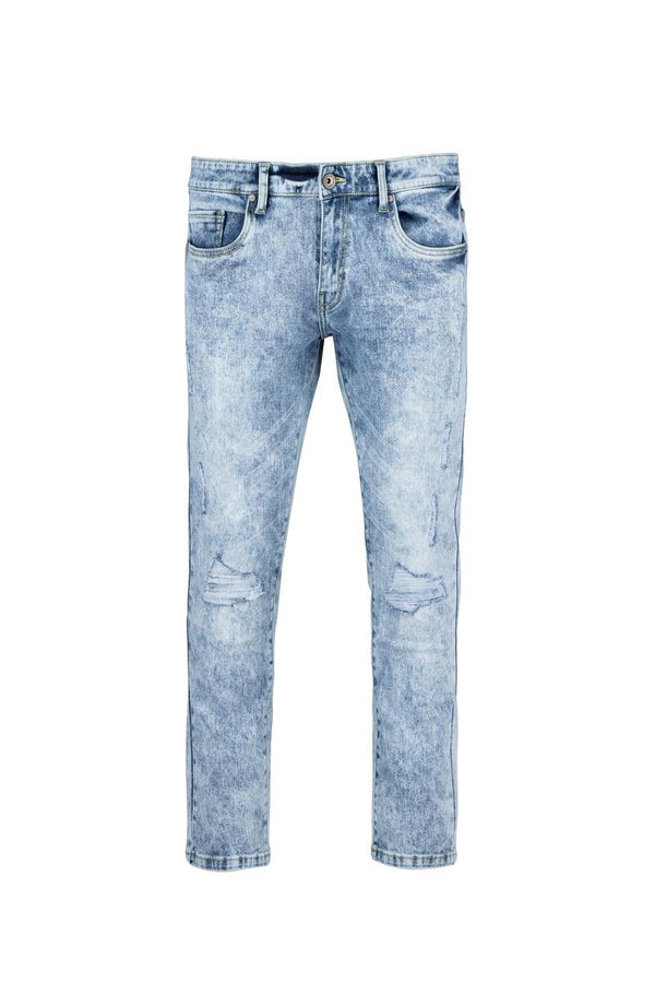 Raw X Rip & Repair Jeans (Lt Blue)