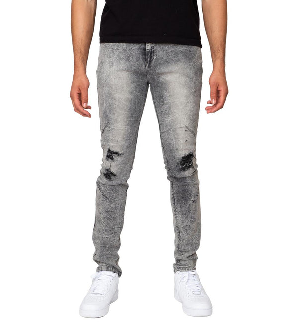 Genuine Nobel Denim Pants (Acid Grey)