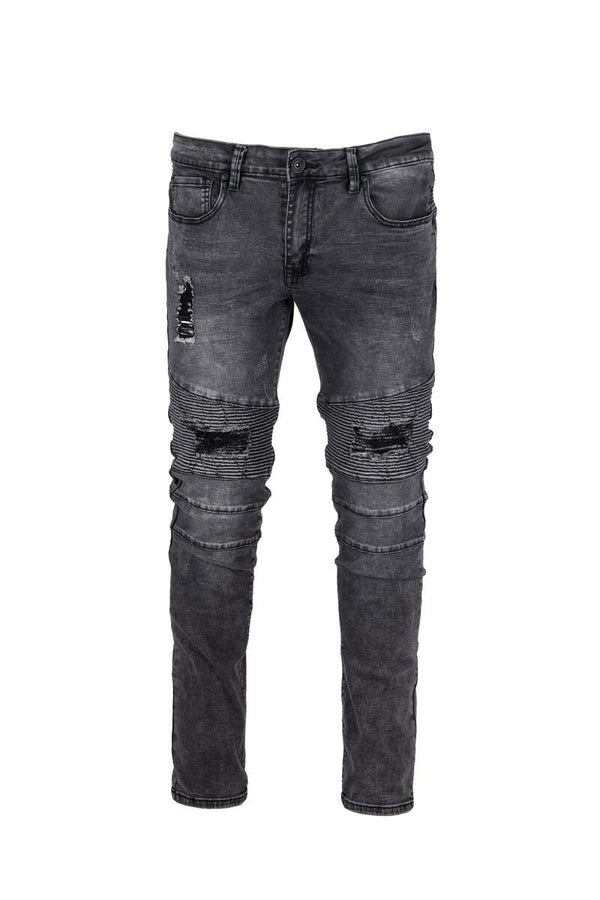 Raw X Moto Jeans (Black Wash)