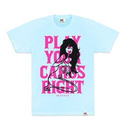 Ethik Play Your Cards Tshirt (Baby Blue)