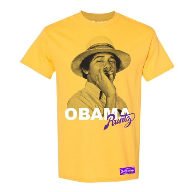 Runtz Obama Shirt (Yellow)