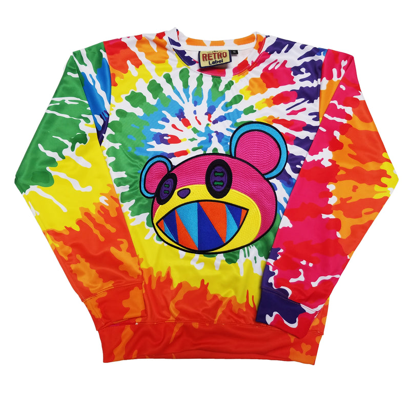 Retro Label Mira Crewneck (Tie Dye)