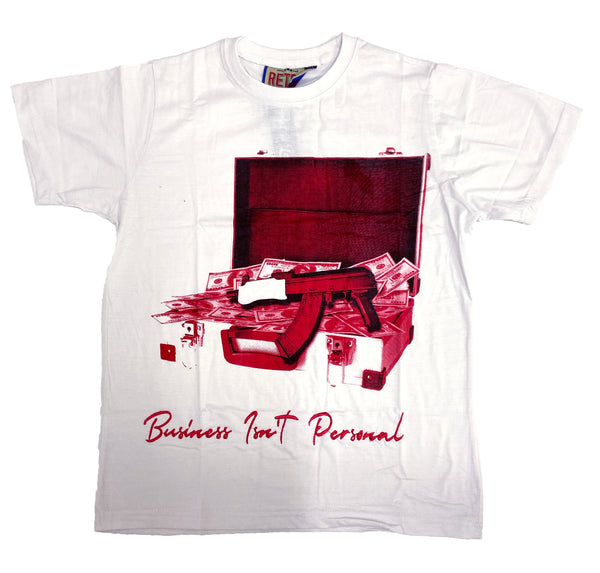 Retro Label Business Isn't Personal Shirt (Retro 3 Fire)
