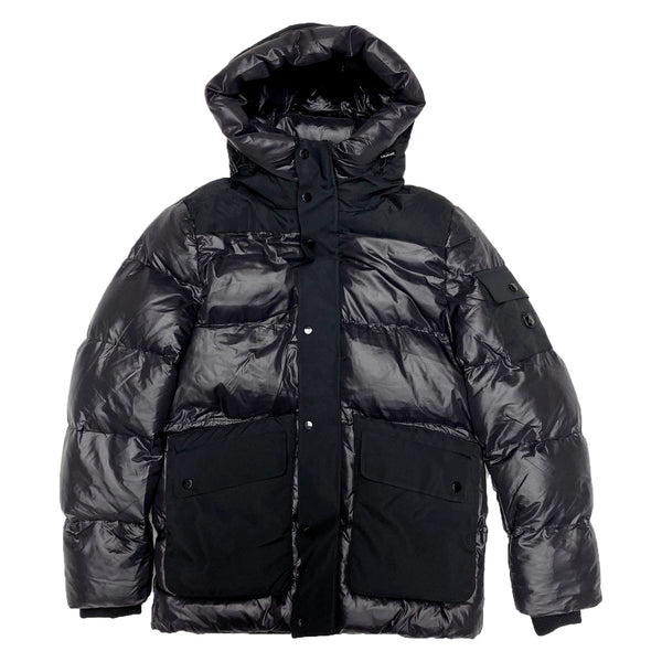 Point Zero Bubble Jacket (Black)