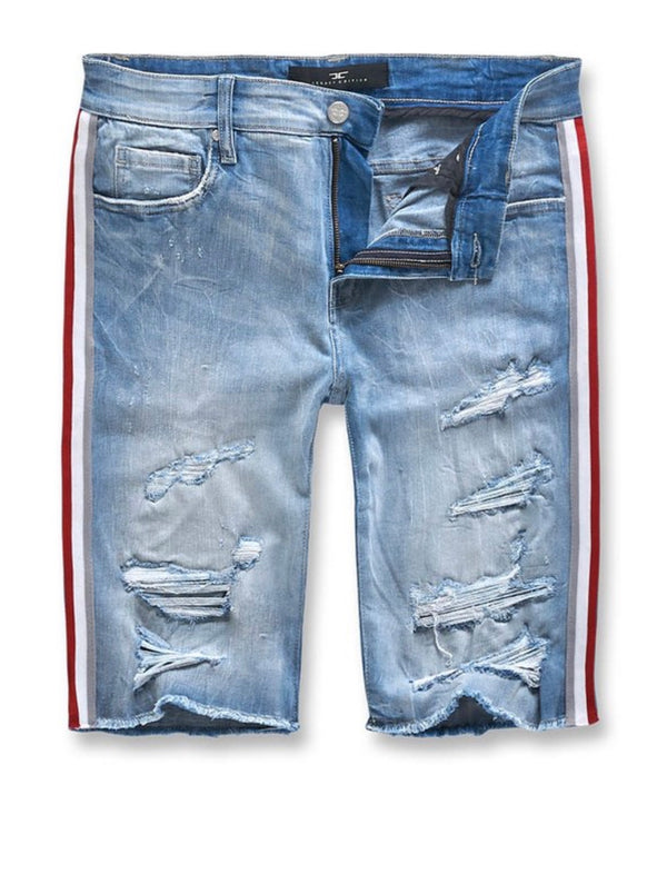 Jordan Craig Daytona Denim Shorts (Iced Blue)