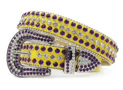 DNA Belt (Yellow/Purple)