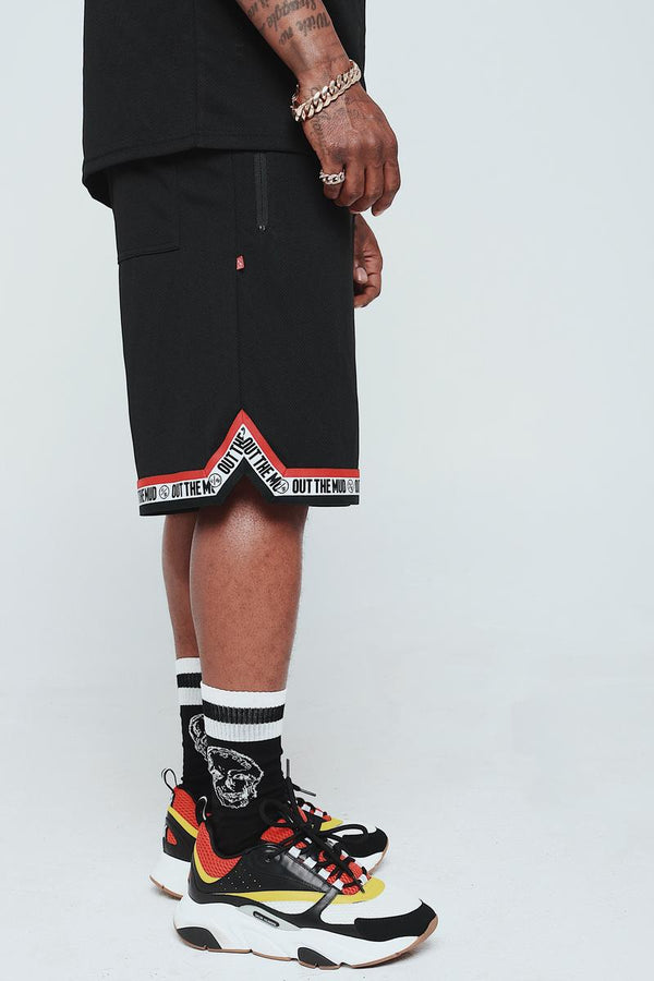 Fly Supply Out The Mud Short (Black)