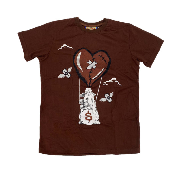 Retro Label Hot Air Shirt (Retro 1 Dark Mocha)