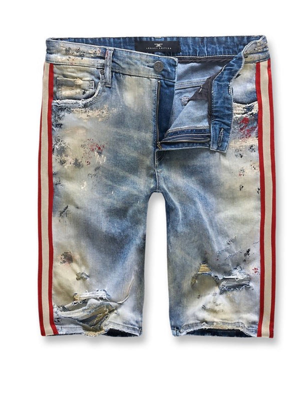 Jordan Craig Talladega Denim Shorts (Summer Blue)