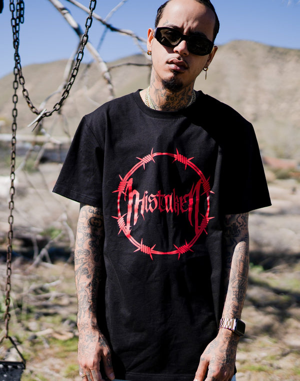 Mstkn Death Trap Tshirt (Black/Red)