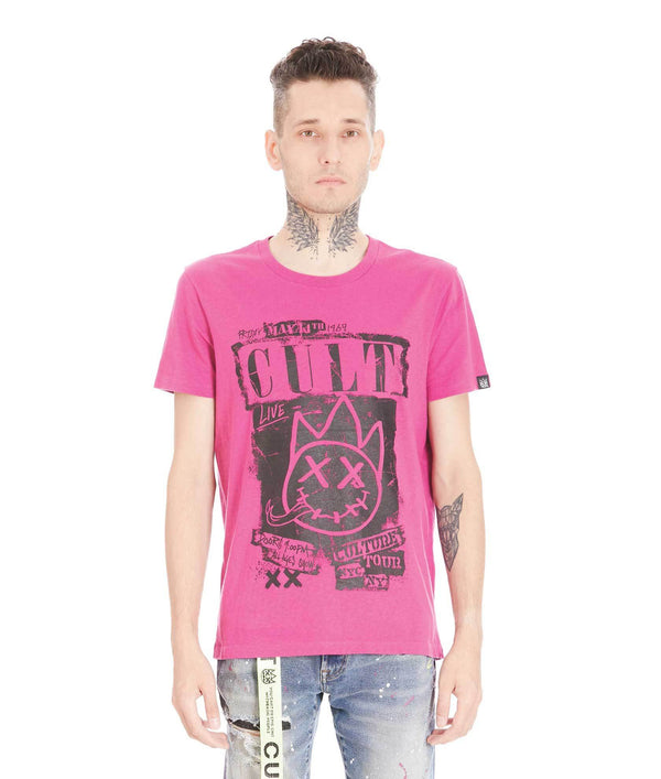 Cult of Individuality Culture Tour Shirt (Magenta)