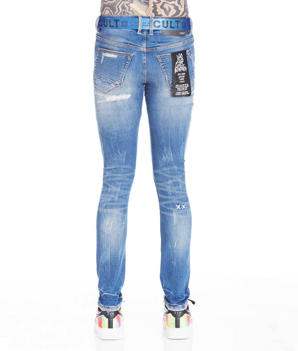 Cult of Individuality Belted Punk Super Skinny (Razor)