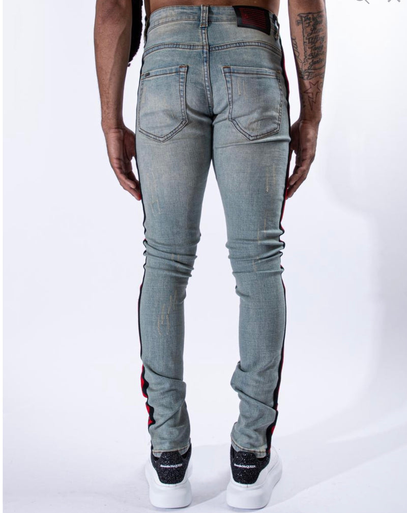 "Serenede ""Double Helix"" Jeans (Earth Tone)"