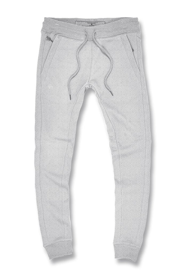 Jordan Craig Uptown Jogger Sweatpants (Heather Grey)
