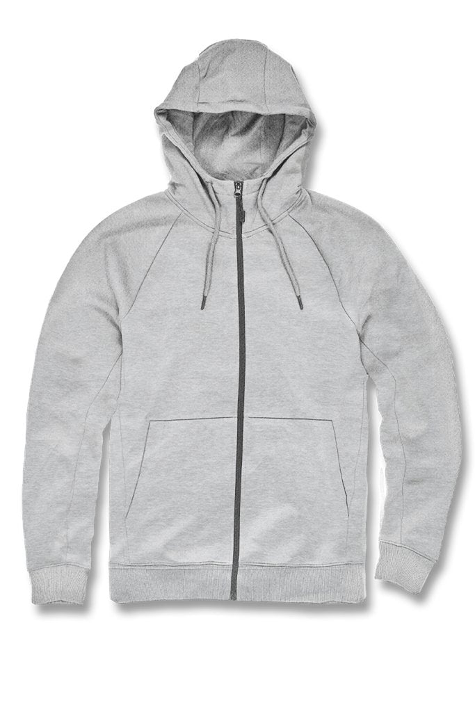 Jordan Craig Uptown Zip Up Hoodie (Heather Grey)