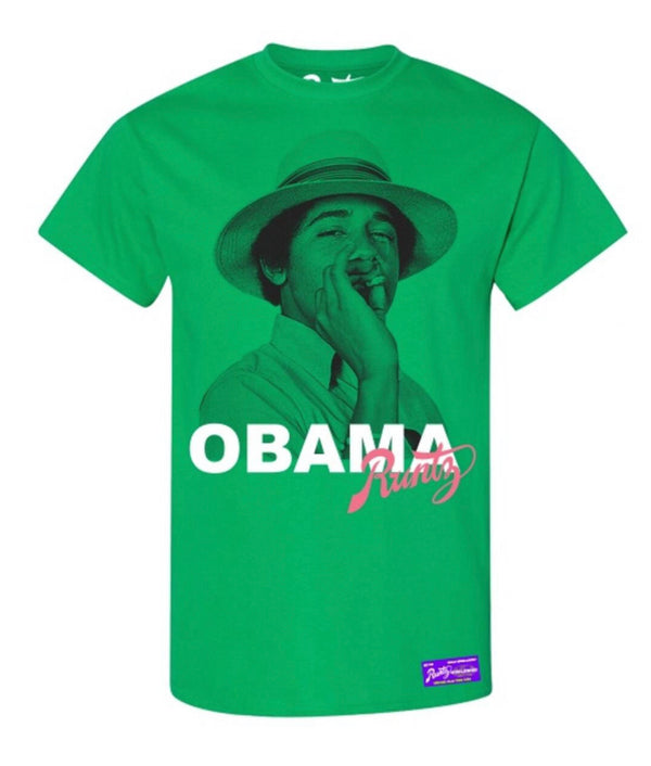 Runtz Obama Shirt (Green)