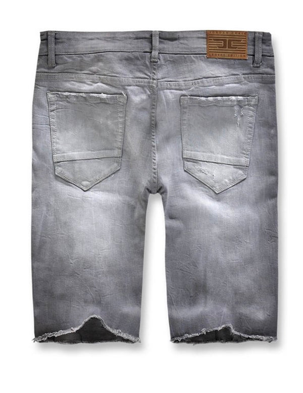 Jordan Craig Daytona Denim Shorts (Light Grey)